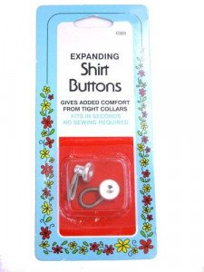 Collins - Expanding Shirt Buttons - C323