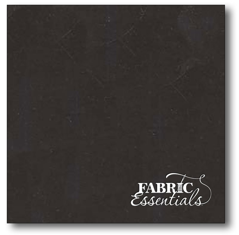 Fabri-Quilt - Black Sateen Solid - 118in Wide Backing - 320 Thread Count - 191A-04 Black