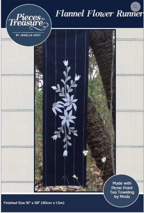 Flannel Flower Runner - PTT-189
