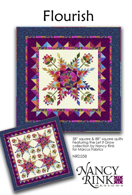 Flourish Pattern - NRD258