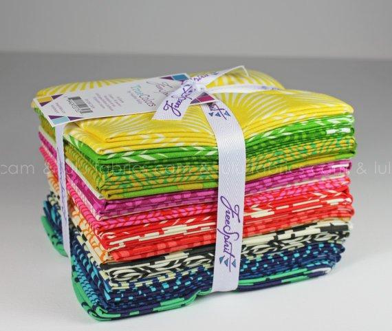 Westminster - Free Spirit - New True Colors - Heather Bailey - Fat Quarter Bundle of 20 Fabrics - FB1FQHBTCNEW