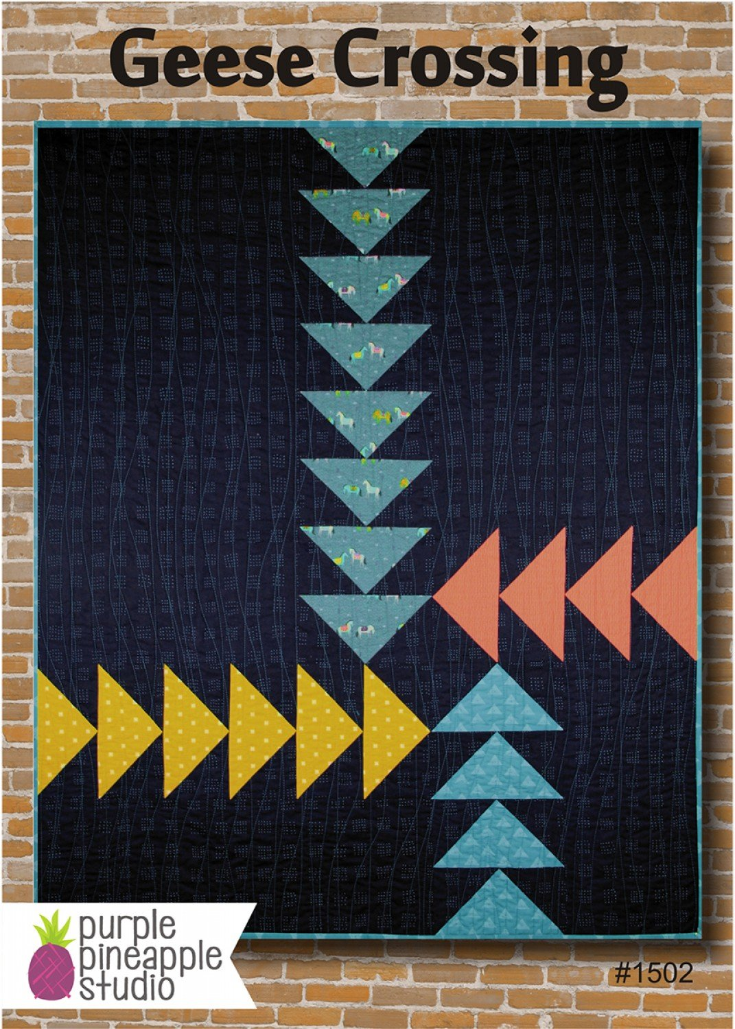 Geese Crossing Quilt Kit!