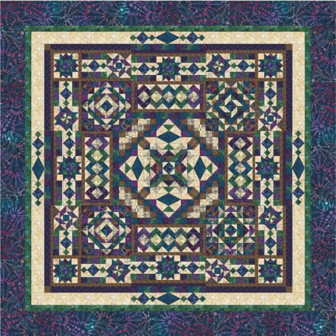 Block Of The Month Fabric