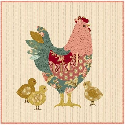 Hen House Pillow Cover KIT - With Exclusive Fabric Reference Guide and ALL 16 Fabrics Required for this project!