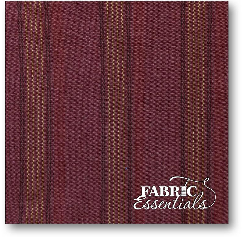 Henry Glass - Buggy Barn - Yarn Dye Basics 2 - 1707Y-88 Rust