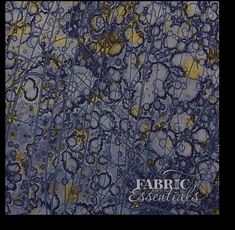 Hoffman - Batik - 1856 - Flaw on Fold  - BOLT END - 25in