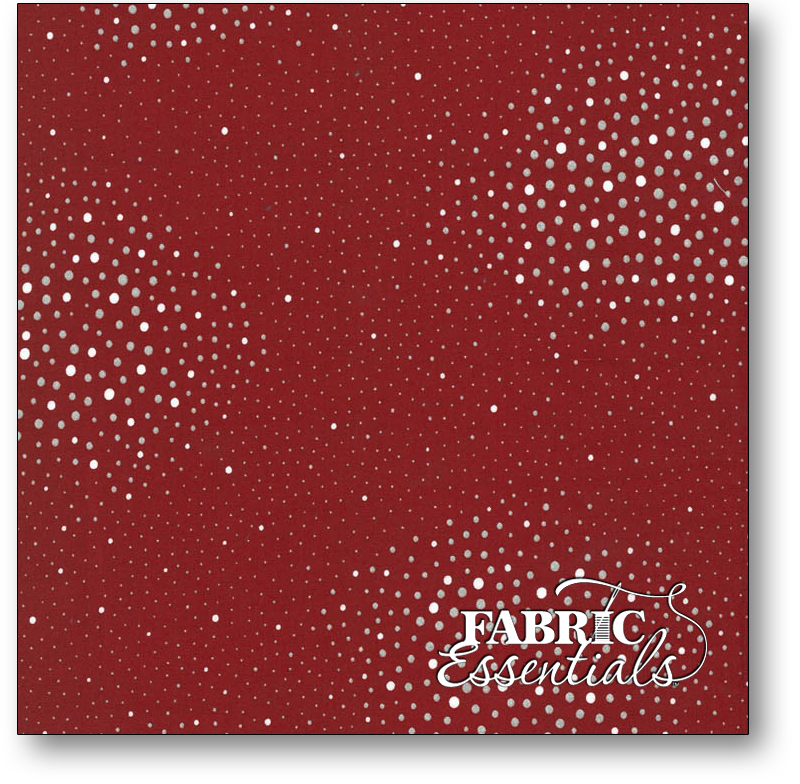 Hoffman - Holiday - P4323H-5S Red Dots with Metallic