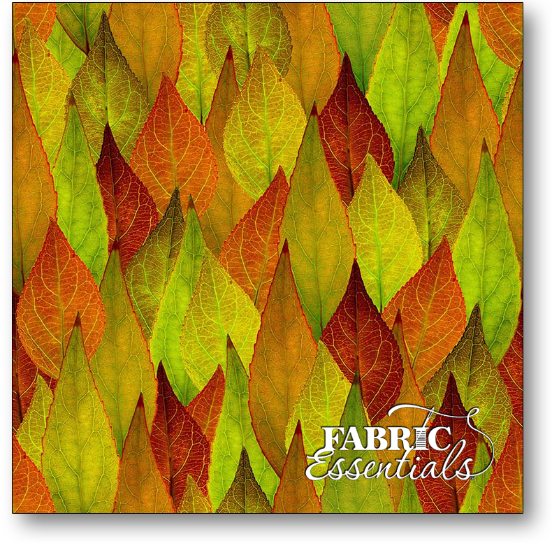 Hoffman - Nature's Narratives Forest Floor - Digitally Printed - R4669-178-Leaf