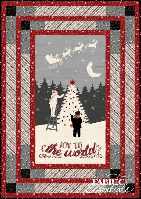 Holiday in the Woods - Bevels Wall Quilt!
