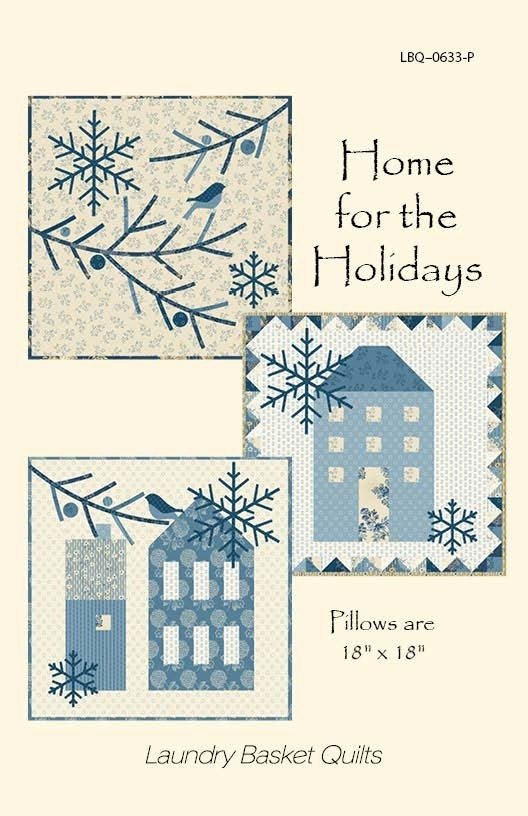 Blue Sky - Home for the Holidays - Three Pillow Patterns - LBQ-0633-P
