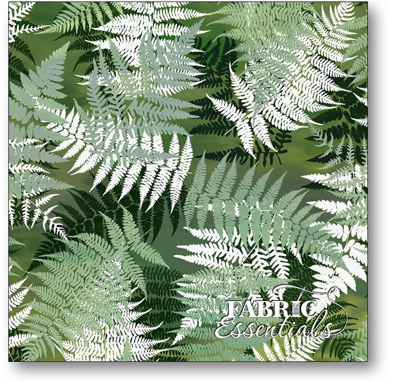 In The Beginning - Terrarium - 5TER-1 - Ferns Digital Print
