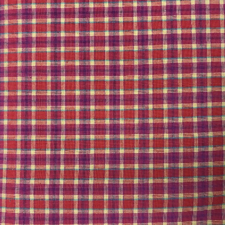 Indo US - Bitsy Brites - Woven Cotton Plaid - 2508