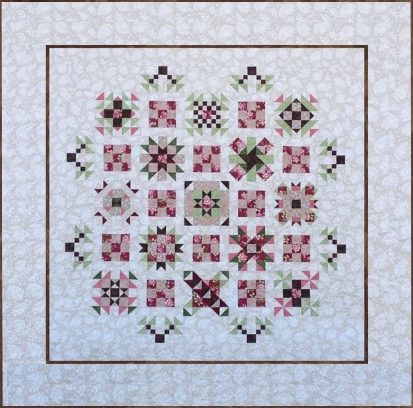Graceful Melody BOM Quilt - Queen or King - ONE KING LEFT - 8 Month Program!!