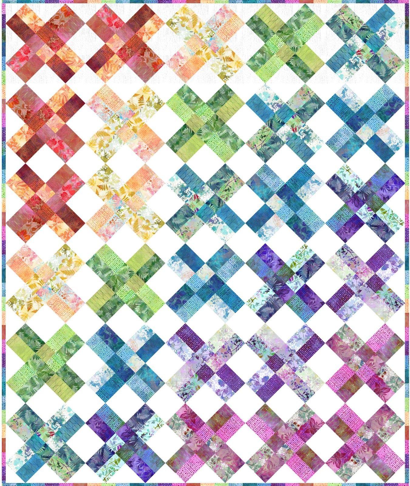 In The Beginning - Garden of Dreams by Jason Yenter - Garden Treasures Quilt KIT!