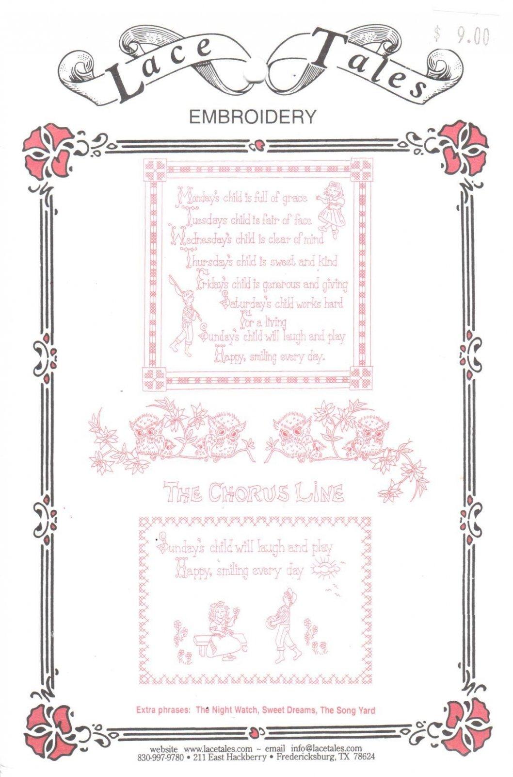 Embroidery - Lyrics 26