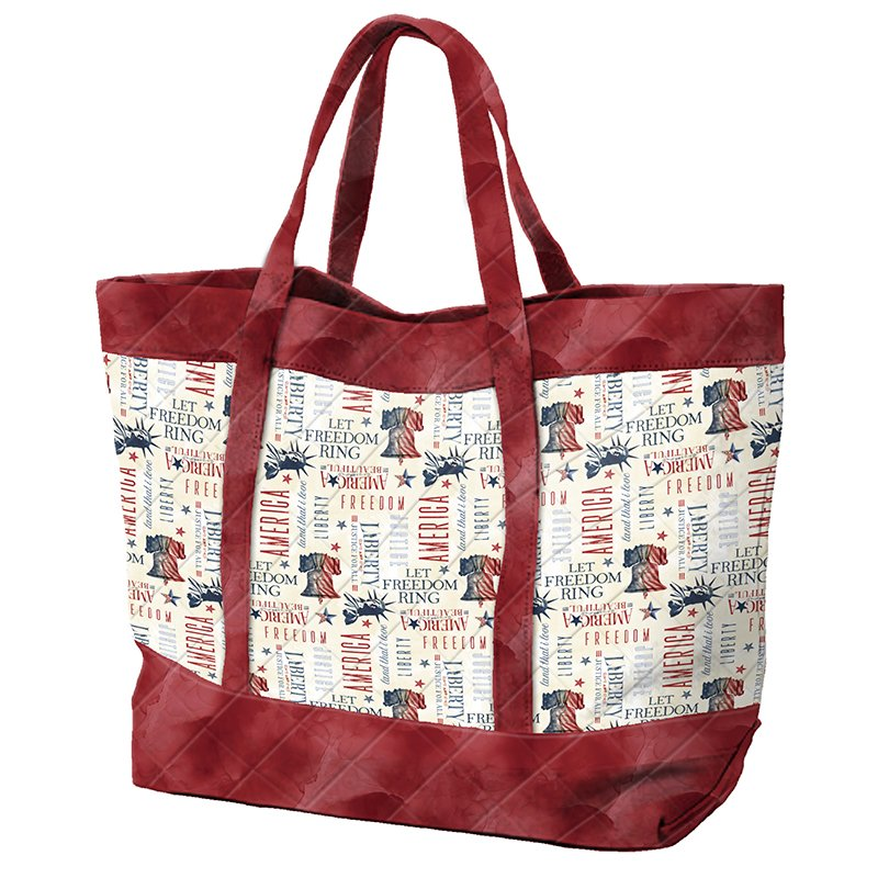 Liberty Lane - Tote Bag - Red Everything Kit!