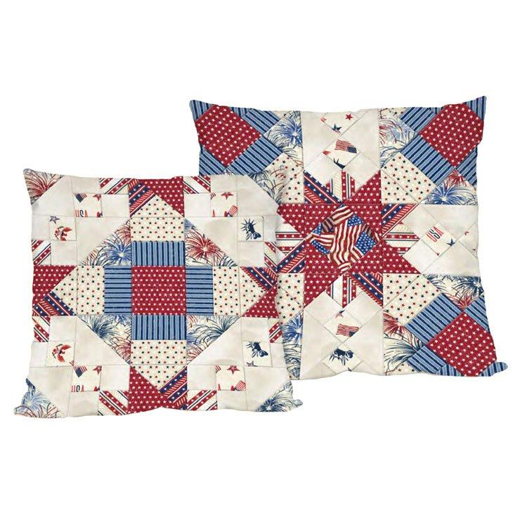 Liberty Lane - Patchwork Pillows