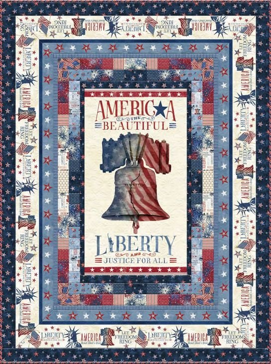 Liberty Lane - Twin Quilt ~ Includes Backing!