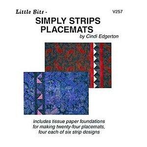Little Bits - Simply Strips Placemats - VSC257