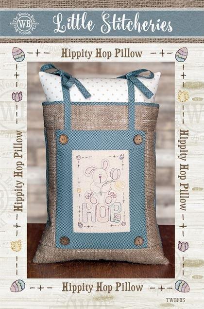 Hippity Hop Pillow - TWBF03