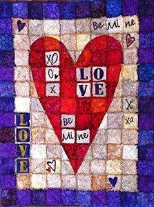 Love Letters Rag Edge Quilt