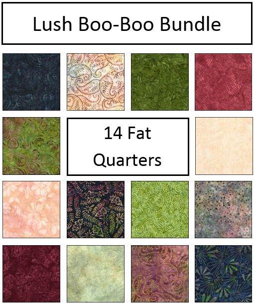 Lush - Boo-Boo Bundle - 14 Fat Quarters