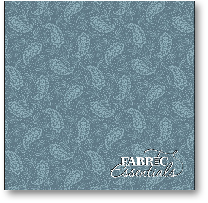 Marcus - Country  Crossroads - Pointe Pleasant - 5666-0122 Paisley-Antique Blue