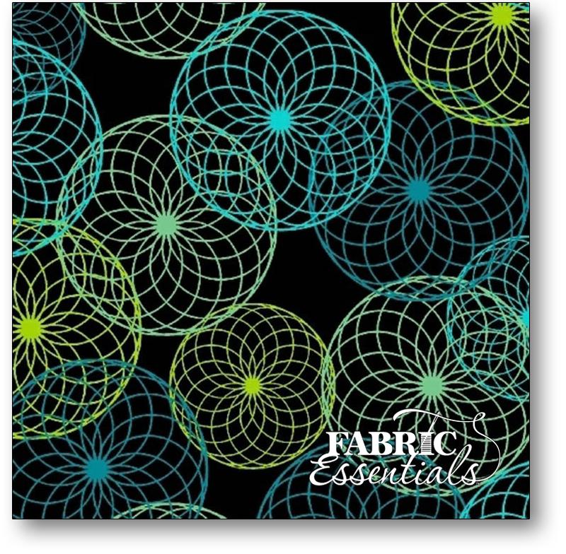 Marcus - Do The Math - R15-0549-0512 - Black Spirograph
