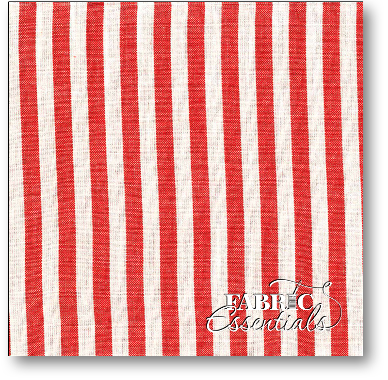 Marcus - Dorothy Collection - Woven - 3687 - Red & White Stripe