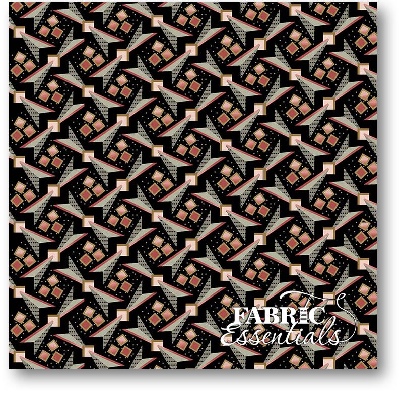 Marcus - Impromptu Mix - R14-8294-0112 - To the Point - Black Bowtie Geometric