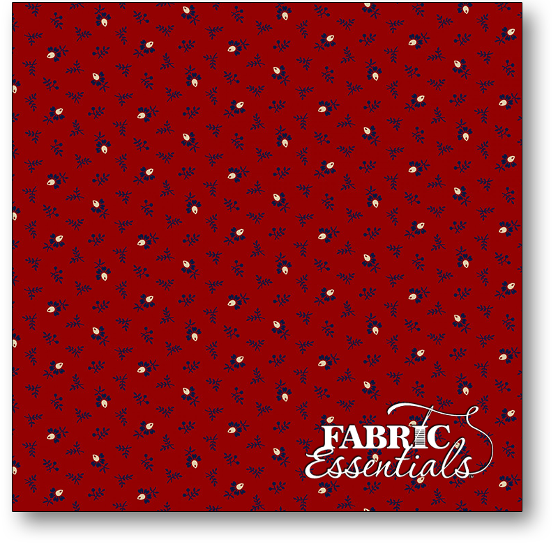 Marcus - Quilt Back - 108in Wide Backing - R36-0997-0111 - Red Coxcomb