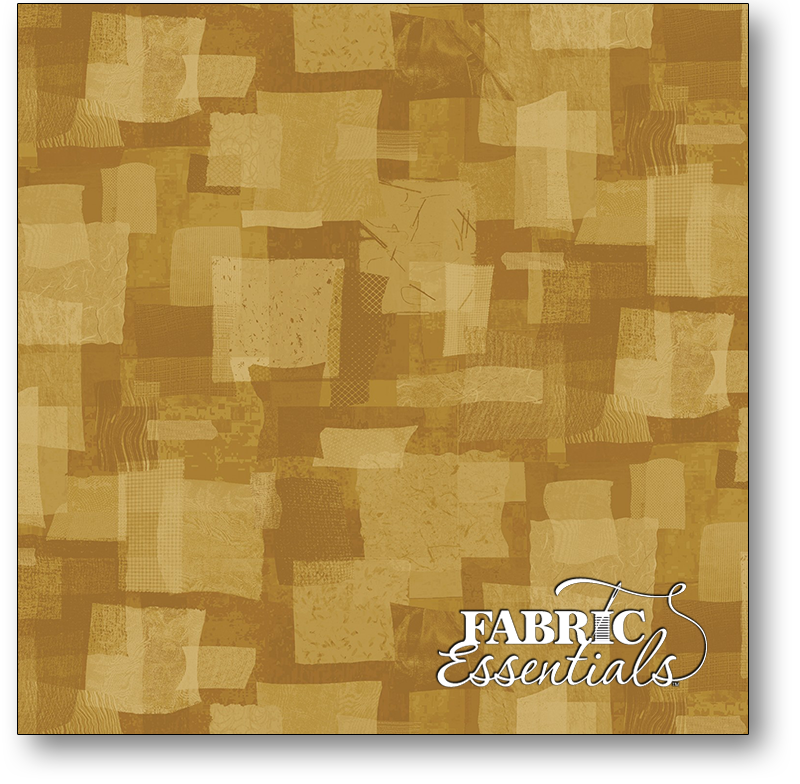 Marcus - Scrap Heap - R21-0575-1032 - Gold Scrap Squares - BOLT END - 26in