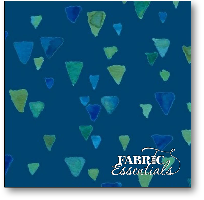 Marcus - Seaglass - R15-9853-0110 - Navy Shards