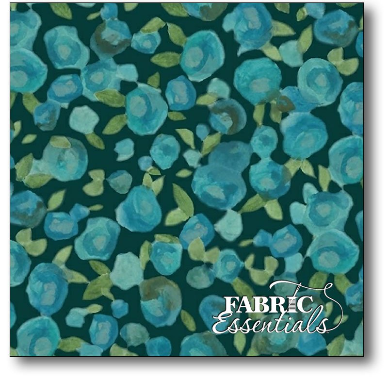 Marcus - Twilight Tones - R15-9799-0150 Blue Blurry Buds