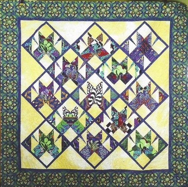 Mardis Gras Quilt Kit - Includes Backing - Multiple Sizes!