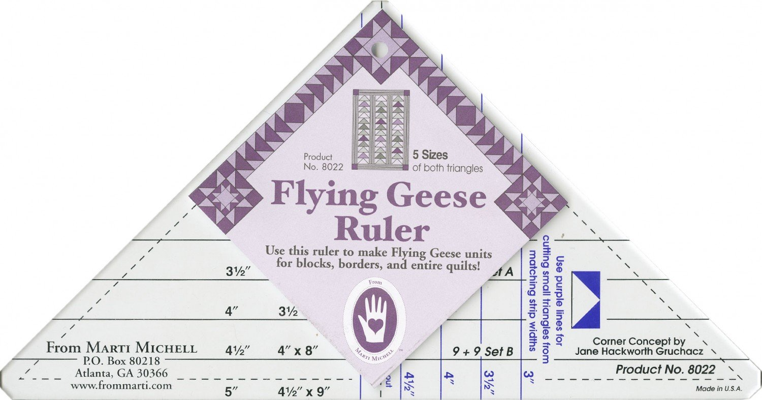 Marti Michell - Flying Geese Ruler  - MM8022