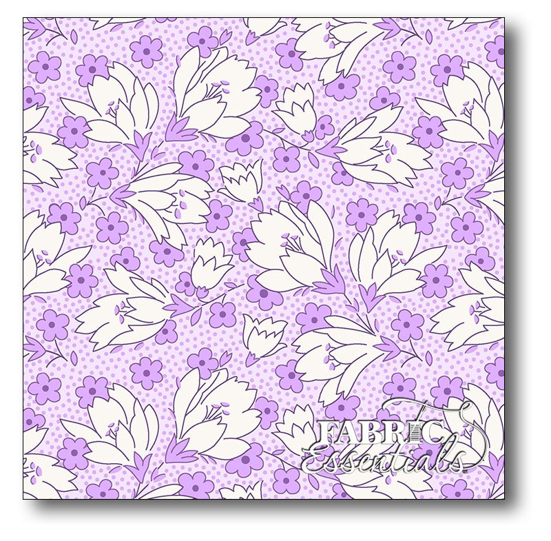 Maywood - A Kim's Cause Collection - Berries & Blossoms - MAS8839-V Violet