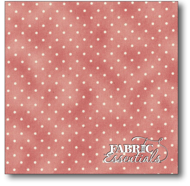Maywood - Beautiful Basics - Dots - MAS609-P White Dots on Pink - BUY THE BOLT - 15IN