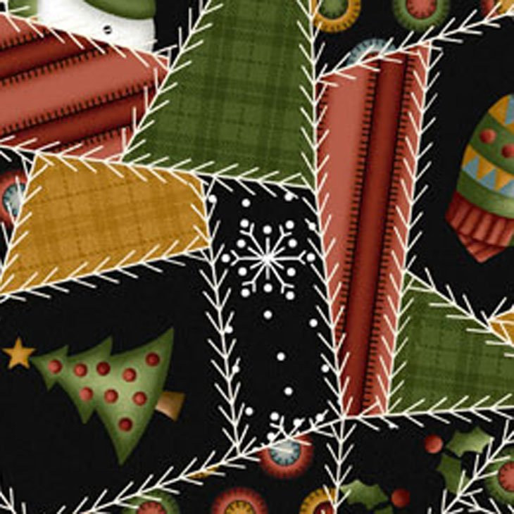 maywood studio crazy for christmas flannel masf18174 z