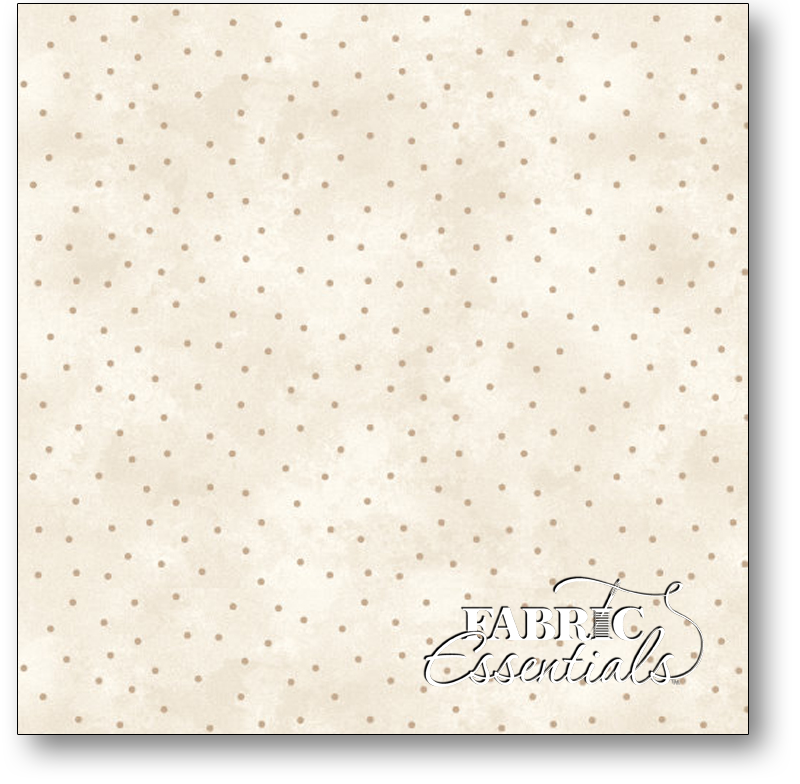 Maywood Studio - Graceful Moments - 8119-EA Tan Dots on Cream