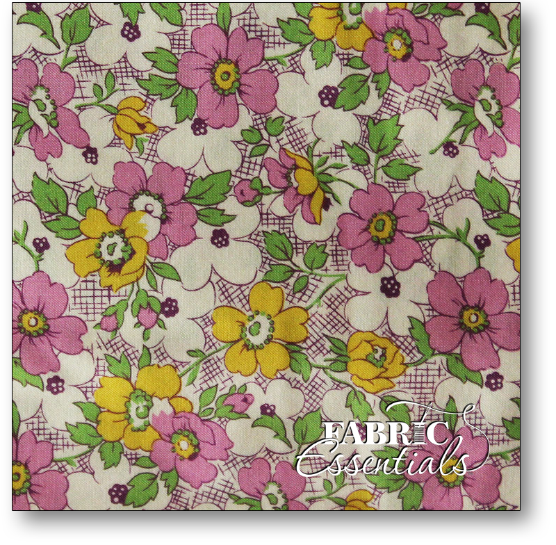 Maywood Studio Vintage Flower Garden Iii 251 V Violet