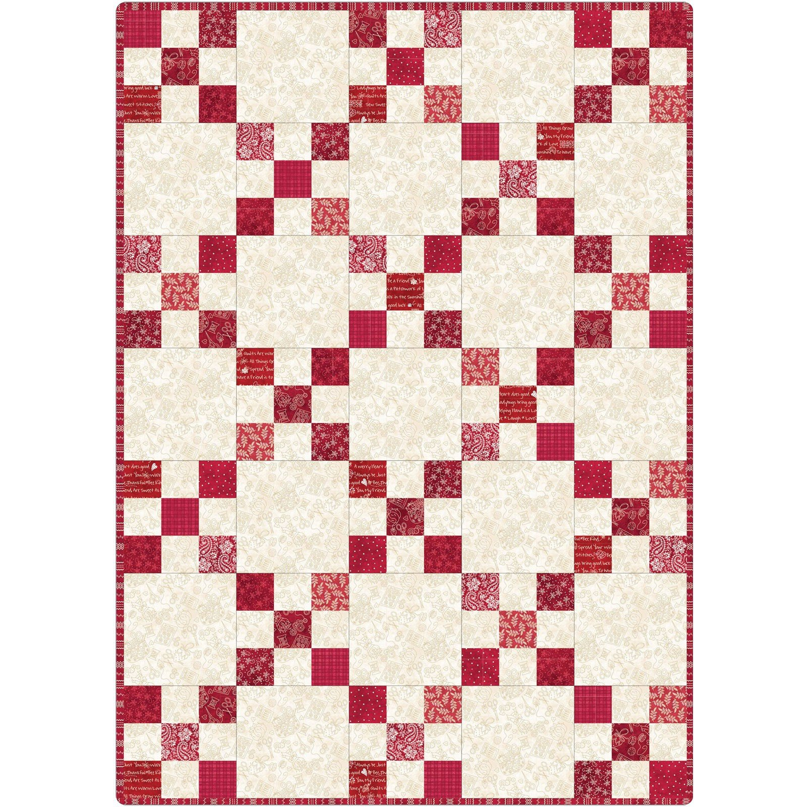 Maywood - The Little Things - Irish Chain Quilt KIT - PreCut Patchwork Pieces - POD-MAS06-TLT