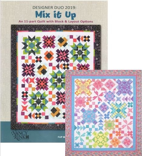 Designer Duo 2019 - Mix It Up - Pattern Booklet