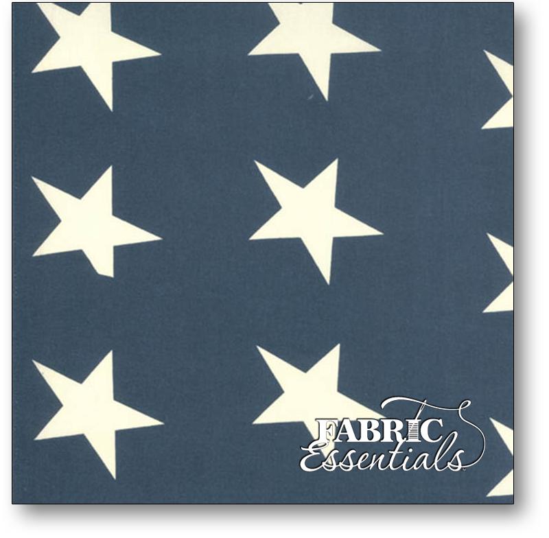Moda - 19in Bar Harbor Flag Bunting - 12211-23 - Blue-White