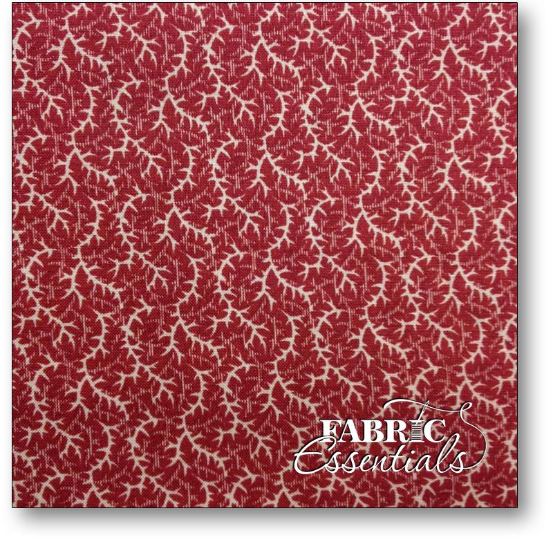 Moda - Barbara Brackman - Remember the Ladies - 7898-12 Red