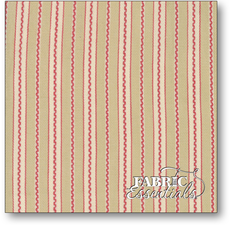 Moda - French General - Atelier De France Twills Rouge (twill weight) - 12558-33