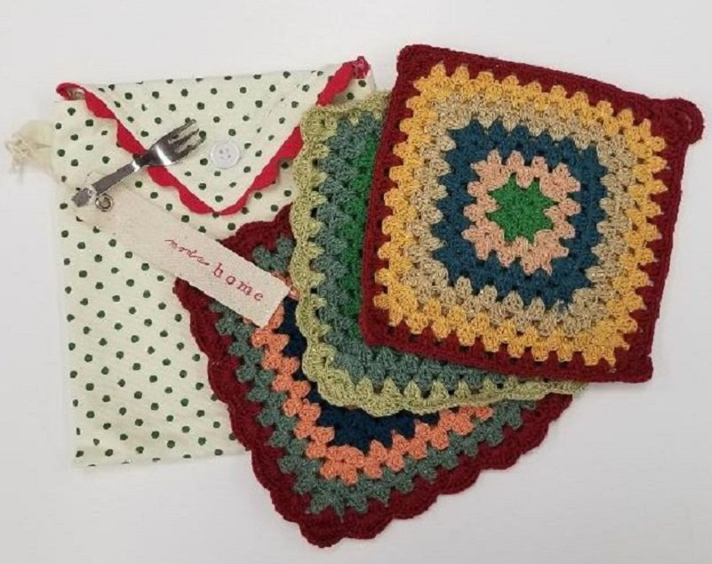 Moda - Grandma's Pot Holder Set - 995-34