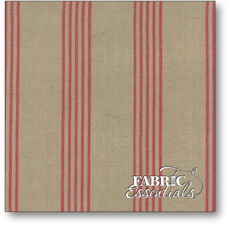 Moda - Linen Closet Woven Fabric - 12133-230 Flax Red