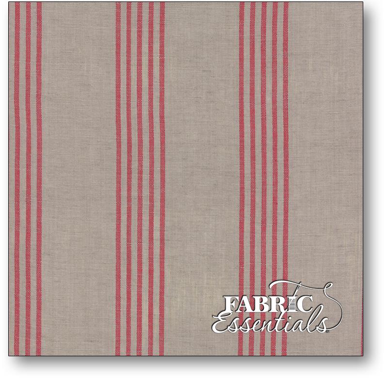 Moda - Linen Closet Woven Fabric - 12133-232 Stone Red