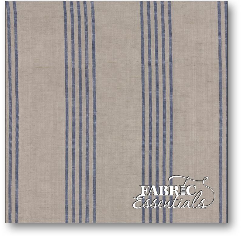 Moda - Linen Closet Woven Fabric - 12133-233 Stone Blue